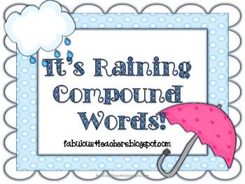 It's Raining Compound Words