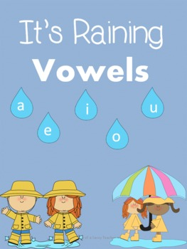 It's Raining Vowels! A spring themed pack!