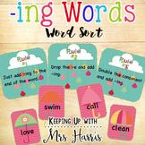-ing Word Sort