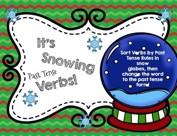 Its Snowing Past Tense Verbs: Winter Past Tense Verb Rules