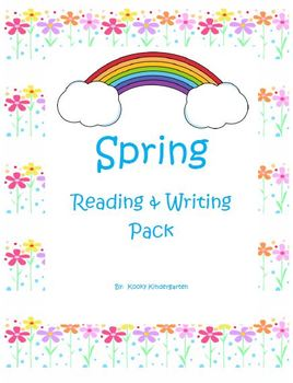 It's Spring Differentiated Language Arts, Writing, and Rea