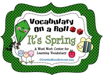 It's Spring - Vocabulary On a Roll