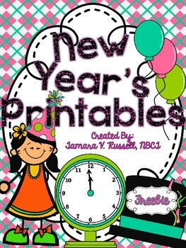 It's Time for New Year's Printables {FREEBIE}