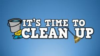 It's Time to Clean Up! (video)