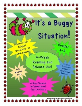 It's a Buggy Situation: A Common Core Aligned Reading and