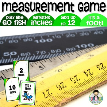 It's a Foot! Measurement Game ~Add Inches Up to a Foot~
