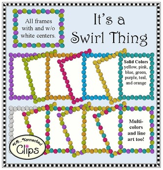 It's a Swirl Thing Frames/Borders
