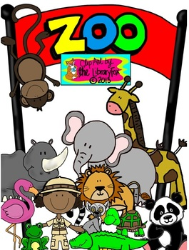 It's a Zoo Clip Art for Personal or Commercial Use