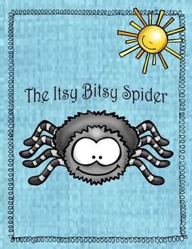 Itsy Bitsy Spider Activity Unit - Math and Literacy