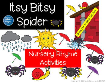 Itsy Bitsy Spider Language Activities