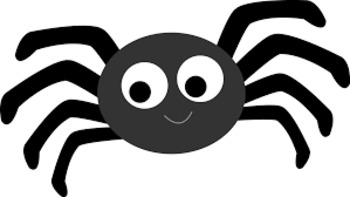 Itsy Bitsy Spider Nursery Rhyme Words for Pocket Chart