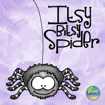Itsy Bitsy Spider Sequencing Activity Kit