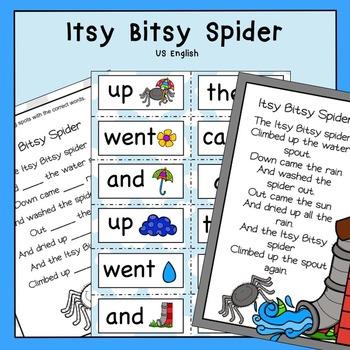 Itsy Bitsy Spider US