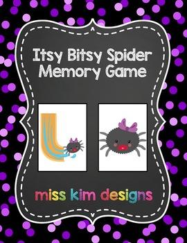 Itsy Bitsy Spider Memory Game