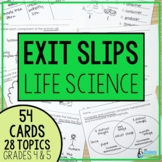 Life Science Exit Slips