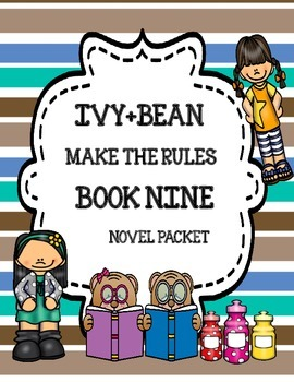 Ivy+Bean Make the Rules by Annie Barrows ( Book Nine) - No
