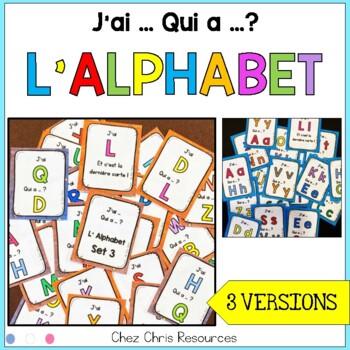 J'ai... Qui a..? - L'alphabet