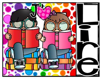 J'aime lire!