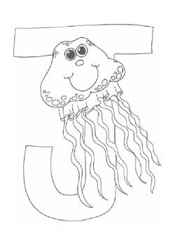 J for Jellyfish!