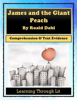 Roald Dahl JAMES AND THE GIANT PEACH - Novel Study