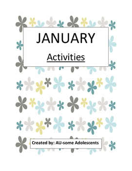 JANUARY- Re-usable Activities