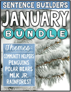 JANUARY Sentence Builders BUNDLE