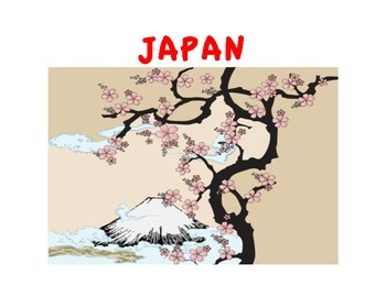 JAPAN UNIT (GRADES 4 - 8)