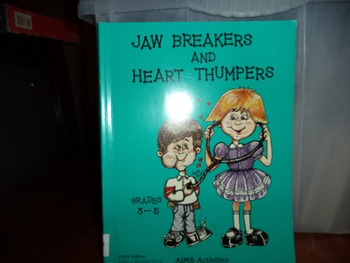 JAW BREAKERS  HEART THUMPERS  ISBN 1-881431-60-6