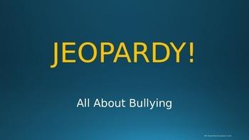 JEOPARDY! Bullying PowerPoint Presentation