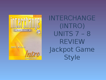 JEOPARTY STYLE GAME REVIEW