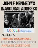 JFK Inaugural Speech: Close Read & Analysis