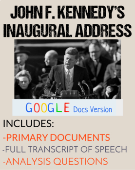 JFK Inaugural Address: Close Read & Analysis