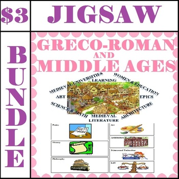 JIGSAW BUNDLE: Greco-Roman & Middle Ages