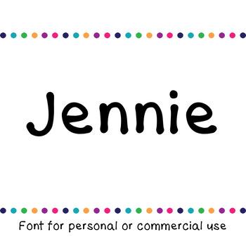 JM Jennie Font