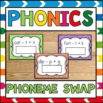 Phonics Center Phoneme Swap