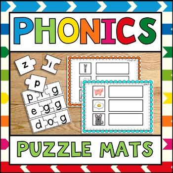 Phonics Puzzle Mats