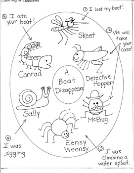 JOURNEYS FIRST GRADE: LESSON 29-A BOAT DISAPPEARS/CHARACTE