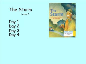 "JOURNEYS FIRST GRADE ""THE STORM"" LESSON 2"