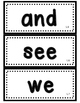 JOURNEYS Kindergarten Sight Words~ 88 Wall Cards~ Lesson L