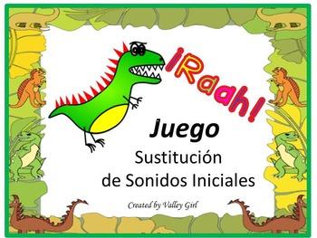 Spanish Alphabet: Sustitución de sonidos iniciales (Game)