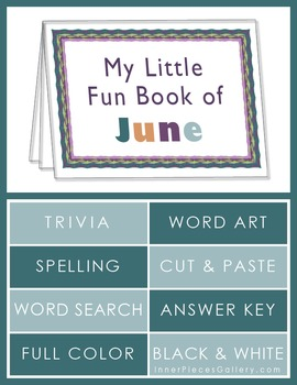 My Little Fun Book of June Helps Reinforce the Months of the Year
