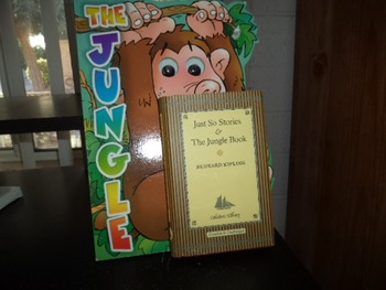JUST SO STORIES   JUNGLE BOOK  THE JUNGLE  (set of 2)