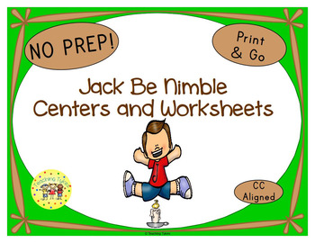 Jack Be Nimble Worksheets Activities Games Printables and More
