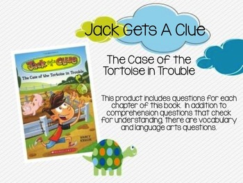 Jack Gets A Clue:  The Case of the Tortoise in Trouble Com