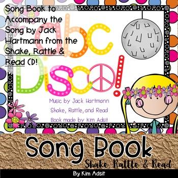 Jack Hartmann ABC Disco Fun Music Book