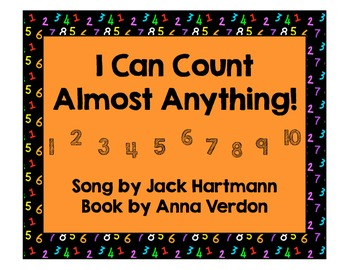 Jack Hartmann - I Can Count Almost Anything Music Book