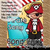 Jack Hartmann Silly Pirate Pirate Song Fun Music Book