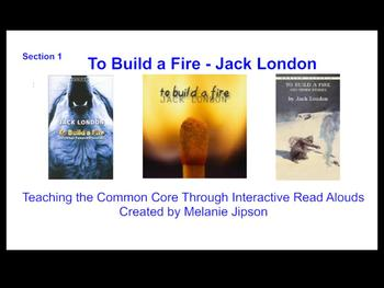 "Jack London ""To Build a Fire"" Interactive Read Aloud Part 2"
