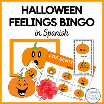 Jack-O'-Lantern Bingo {Spanish}