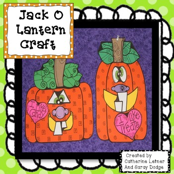 Jack O Lantern Crafty
